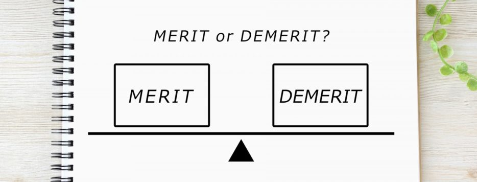 merit demerit